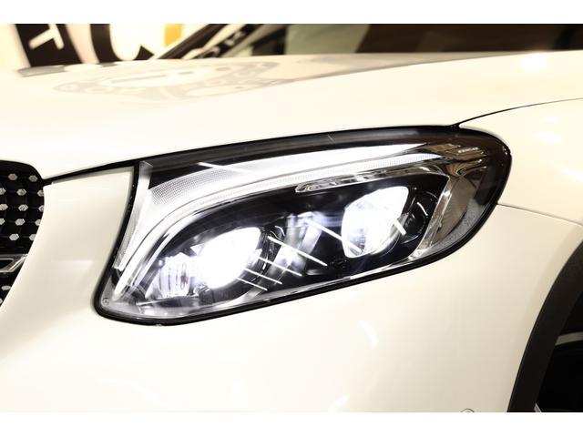 GLC43 4M レザEXC 黒革SR ブルメスタ 新車保証(14枚目)