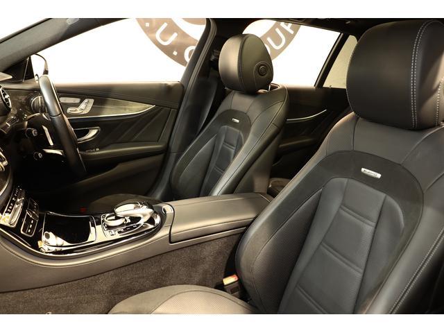 E43ワゴン4M 黒革 パノラマSR ブルメスタ 新車保証付(5枚目)