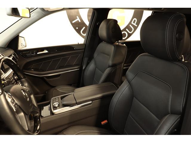 上質なブラックレザーシートを装備!快適なカーライフをサポートするメモリー機能付きパワーシート、1st&2ndシートヒーター、フロントベンチレーター、電動ランバーサポート機能を搭載しています!