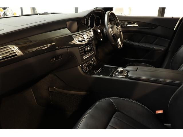 CLS350 AMGスポーツパッケージ レーダーセーフティPKG キーレスゴー 黒革 SR HDDナビTV BT音楽 Bカメラ PTS DSRC LEDヘッドライト 自動トランク 電動Rブラインド AMGエアロ&19インチAW 2年保証(3枚目)