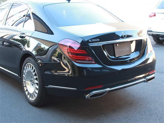 S560 4MATIC ロング ショーファーリミテッド 2年保証 新車保証(4枚目)