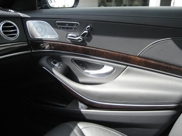 S560 4MATIC ロング ショーファーリミテッド 2年保証 新車保証(17枚目)
