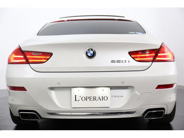 BMW BMW 650iグランクーペ 茶革 左ハンドル LEDヘッドライト