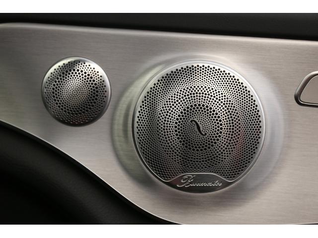 メルセデスAMG メルセデスAMG C63 Sカブリオレ ブルメスター シートH エアスカーフ