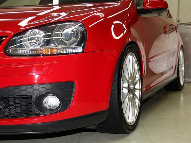 フォルクスワーゲン VW ゴルフ GTI ビル車高調整式サス OZ18アルミ ナビDTV 禁煙