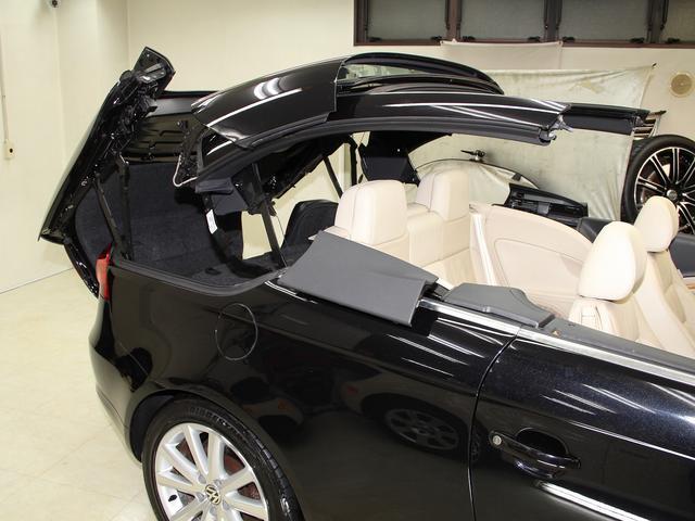 フォルクスワーゲン VW イオス V6 ベージュ本革パワーシート HDDナビ 禁煙車 1オーナ