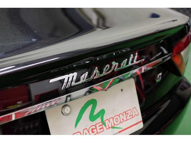 マセラティ マセラティ グラントゥーリズモ S アルカンターラシート 可変バルブマフラー20AW一年保証