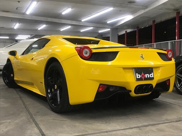 フェラーリ フェラーリ 458スパイダー リフター Bカメラ マフラー開閉バルブ