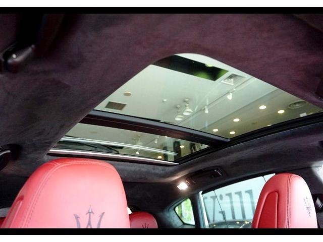 S カーボンインテリア 赤革 パワークラフトセンターマフラー(8枚目)