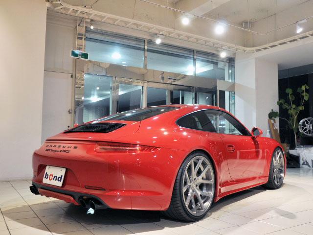 911カレラ4GTS AGIO21インチAW KW車高調(3枚目)