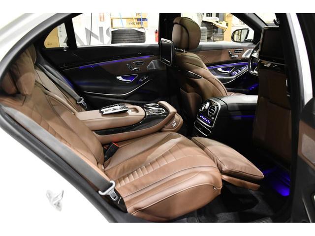S550ロング S63エアロ ショーファーPKG ブラウンレ(5枚目)