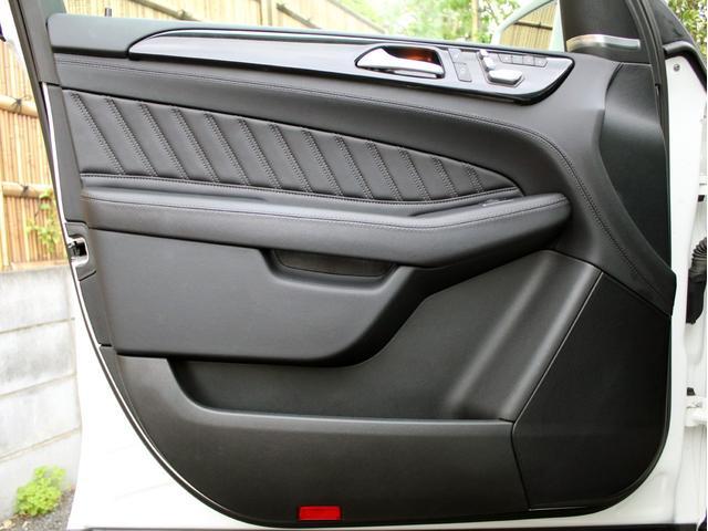GLE350d 4マチックスポーツ 右H 黒本革 キーレスゴー HDDナビ 地デジ 360°カメラ Bluetoothオーディオ レーダーセーフティ パノラミックスライディングルーフ 社外20インチアルミホイール ローダウン(50枚目)