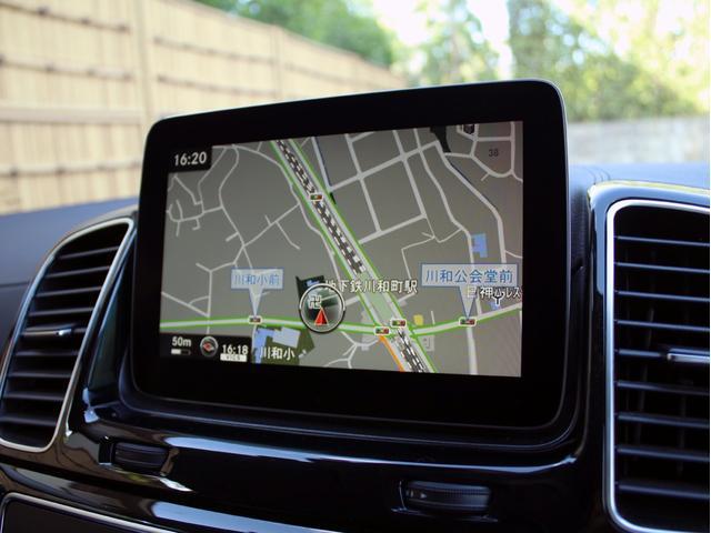 GLE350d 4マチックスポーツ 右H 黒革 1オーナー 禁煙 キーレスゴー HDDナビ 地デジ 360°カメラ Bluetoothオーディオ レーダーセーフティ シートヒーター LEDヘッドライト AMG20インチ パワーバックドア(33枚目)