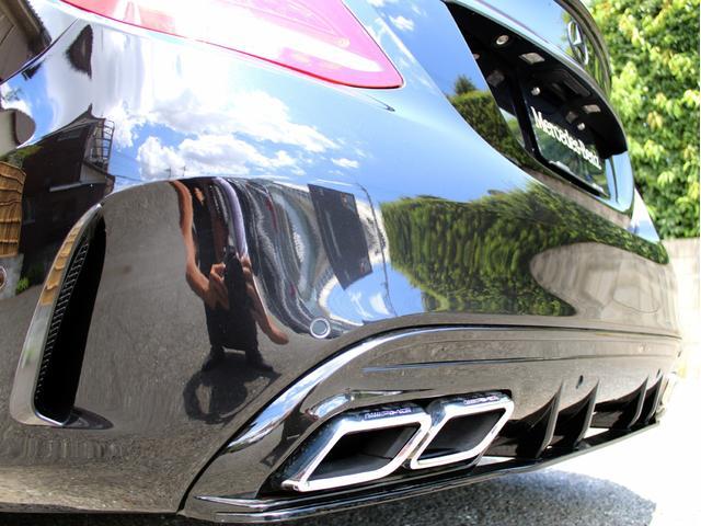 C200アバンギャルド AMGライン 右H C63スタイル キーレスゴー レーダーセーフティ 禁煙 黒アルティコレザーシート HDDナビ 地デジ バックカメラ FOCALスピーカー カールソン20インチアルミ 社外マフラー ローダウン(18枚目)