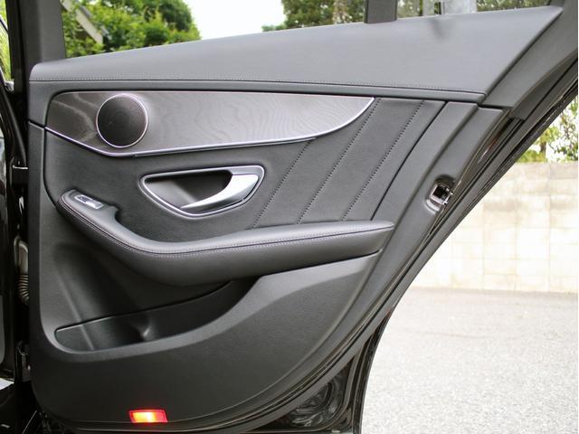C200アバンギャルド AMGライン 右H C63スタイル キーレスゴー レーダーセーフティ 禁煙 黒アルティコレザーシート HDDナビ 地デジ バックカメラ FOCALスピーカー カールソン20インチアルミ 社外マフラー ローダウン(49枚目)