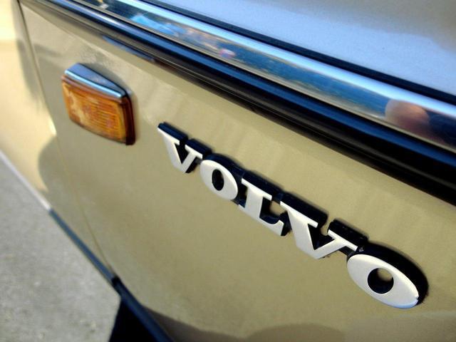 ボルボ ボルボ 240GLワゴン スモール窓 純正カラー OLD帝人カスタム