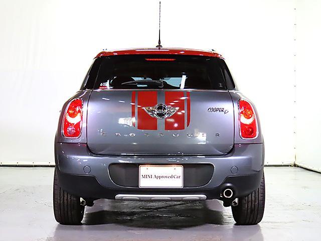 クーパーD クロスオーバー パークレーン 認定中古車 ナビゲーション バックカメラ 限定車 ALL4エクステリア 専用色 アールグレー メタリック バイキセノン レインセンサー自動ドライビングライト付 スポーツレザーステアリング(11枚目)