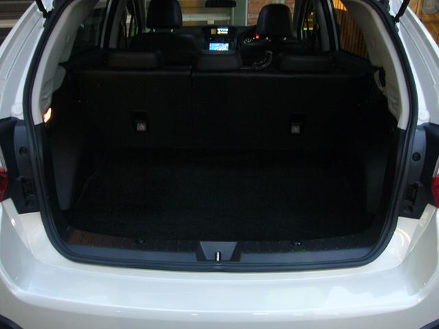 スバル インプレッサXV 2.0i-L アイサイト 黒革 ワンオーナー ルーフレール