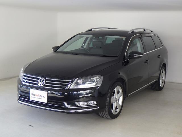 フォルクスワーゲン VW パサートヴァリアント TSIハイライン ナビ Pセンサー 黒レザー 認定中古車