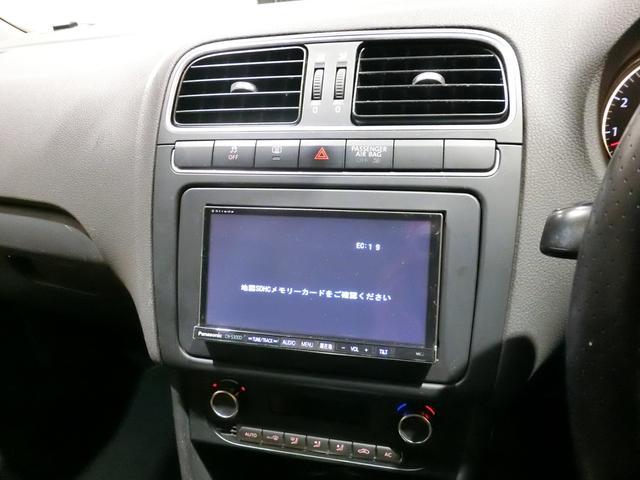 フォルクスワーゲン VW ポロ クロスポロ メモリーナビ 地デジ フルセグ キセノンライト