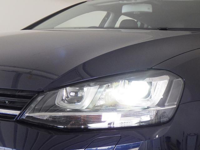 フォルクスワーゲン VW ゴルフヴァリアント ハイライン 純正ナビ キセノン オートライト ACC