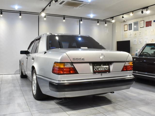 500E D車 記録簿21枚 1992年製 ポルシェライン(4枚目)
