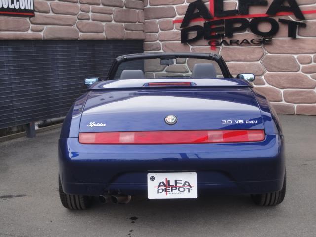 「アルファロメオ」「アルファスパイダー」「オープンカー」「埼玉県」の中古車3