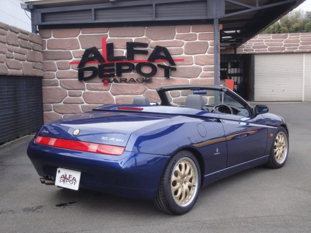 「アルファロメオ」「アルファスパイダー」「オープンカー」「埼玉県」の中古車8