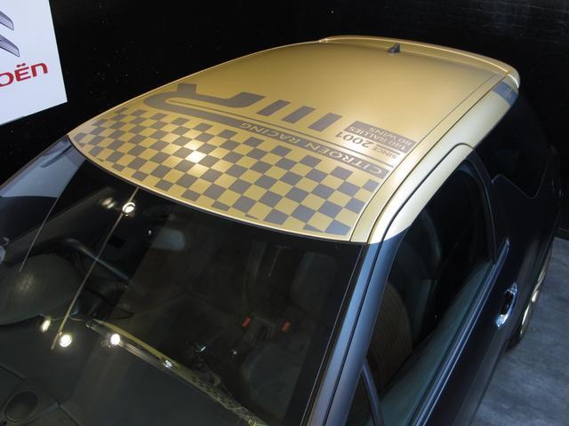 レーシングマットゴールド 国内20台限定車 ワンオーナー 1.6Lターボ 6速MT 207馬力 専用シート 専用ボディデカール 専用インテリアパネル レッドキャリパー カーボンパネル HiFiオーディオ 専用18インチAW(17枚目)
