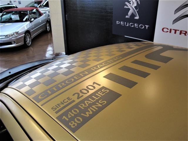 レーシングマットゴールド 国内20台限定車 ワンオーナー 1.6Lターボ 6速MT 207馬力 専用シート 専用ボディデカール 専用インテリアパネル レッドキャリパー カーボンパネル HiFiオーディオ 専用18インチAW(18枚目)