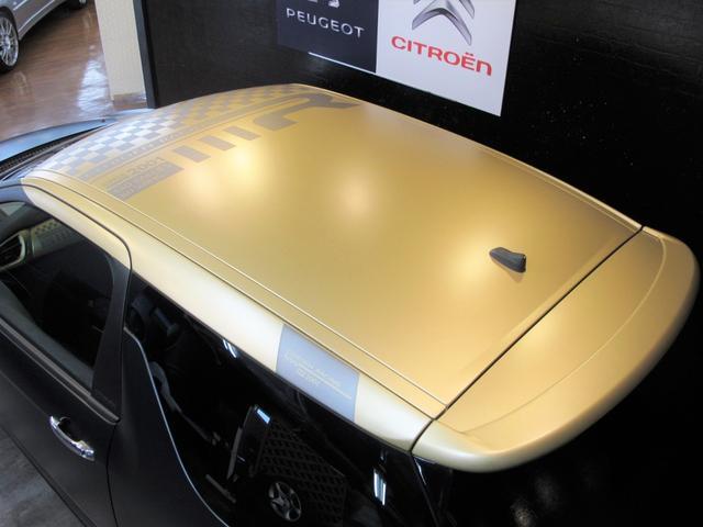 レーシングマットゴールド 国内20台限定車 ワンオーナー 1.6Lターボ 6速MT 207馬力 専用シート 専用ボディデカール 専用インテリアパネル レッドキャリパー カーボンパネル HiFiオーディオ 専用18インチAW(19枚目)