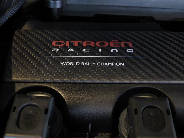 レーシングマットゴールド 国内20台限定車 ワンオーナー 1.6Lターボ 6速MT 207馬力 専用シート 専用ボディデカール 専用インテリアパネル レッドキャリパー カーボンパネル HiFiオーディオ 専用18インチAW(32枚目)