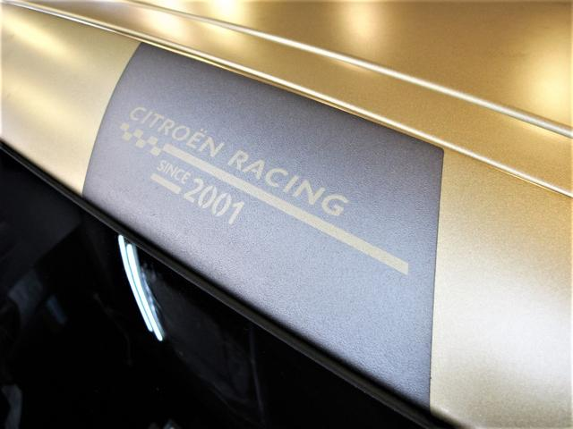 レーシングマットゴールド 国内20台限定車 ワンオーナー 1.6Lターボ 6速MT 207馬力 専用シート 専用ボディデカール 専用インテリアパネル レッドキャリパー カーボンパネル HiFiオーディオ 専用18インチAW(58枚目)