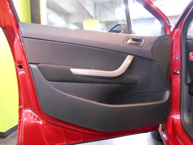 プジョー プジョー 308 プレミアム ワンオーナー 禁煙車 社外ナビ 後期型 6AT