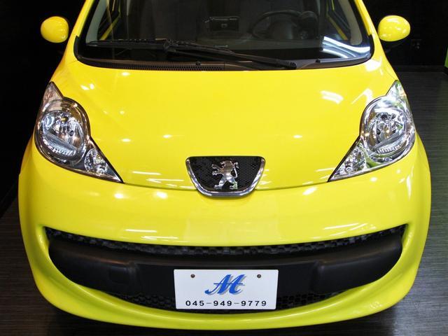 プジョー プジョー 107 新車並行 日本未導入 禁煙車 ヘッドライト新品交換済