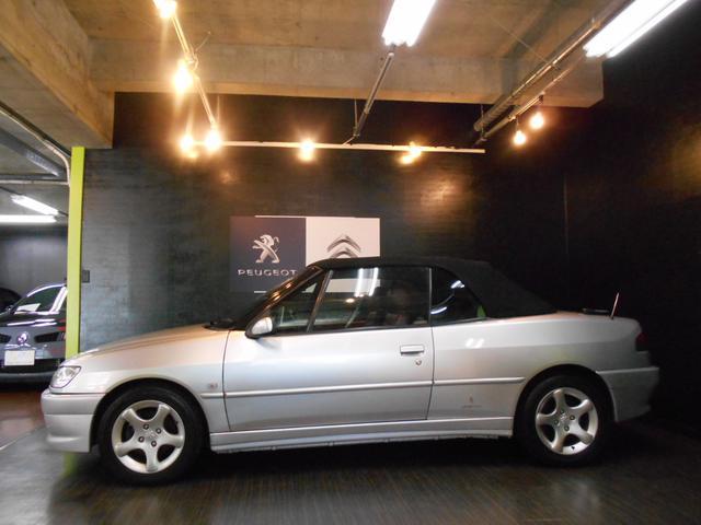 プジョー プジョー 306 カブリオレ 最終型 禁煙車 赤レザーシート 電動オープン