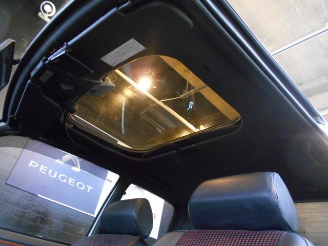 プジョー プジョー 205 GTI ワイドボディ 左ハンドル 5MT 社外14AW