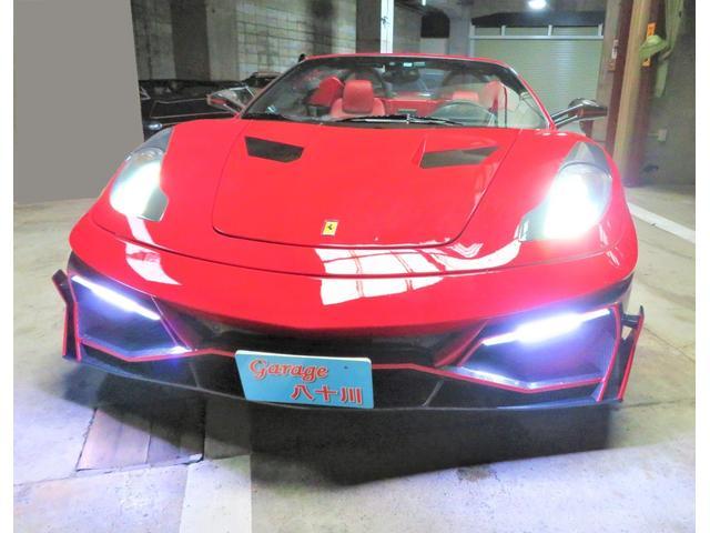 「フェラーリ」「フェラーリ F430スパイダー」「オープンカー」「東京都」の中古車4
