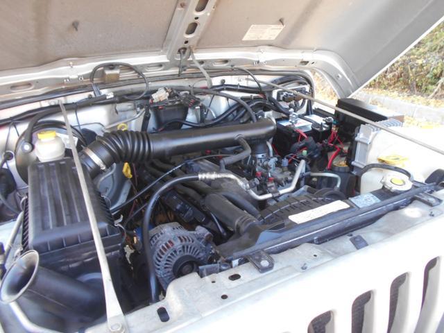 パワフルな4000ccエンジン!