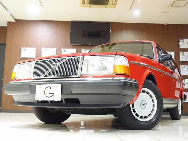 ボルボ ボルボ 240GLワゴン ナビTV ディーラー車 多摩33ナンバー