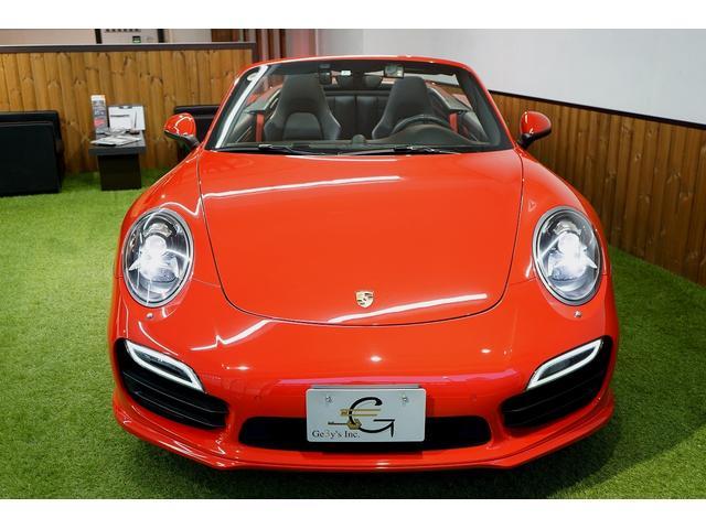 911ターボ カブリオレ 毎年ディーラー整備 ディーラー車(4枚目)