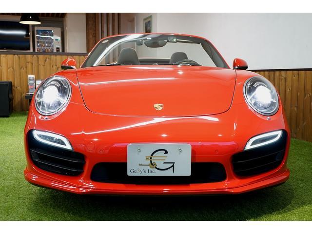 911ターボ カブリオレ 毎年ディーラー整備 ディーラー車(5枚目)