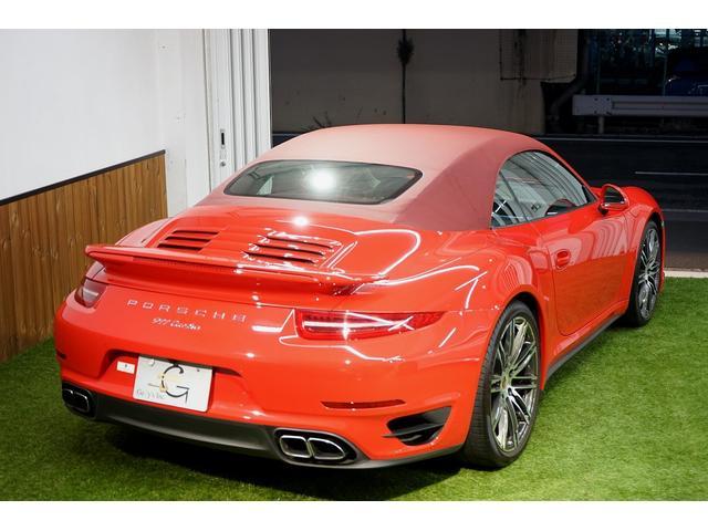 911ターボ カブリオレ 毎年ディーラー整備 ディーラー車(7枚目)