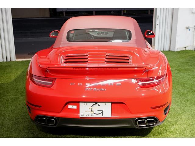 911ターボ カブリオレ 毎年ディーラー整備 ディーラー車(9枚目)