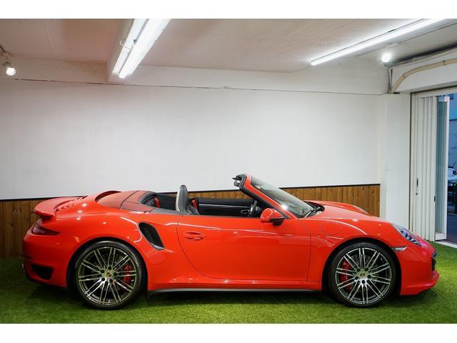 911ターボ カブリオレ 毎年ディーラー整備 ディーラー車(11枚目)