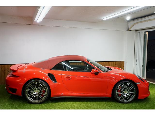 911ターボ カブリオレ 毎年ディーラー整備 ディーラー車(12枚目)