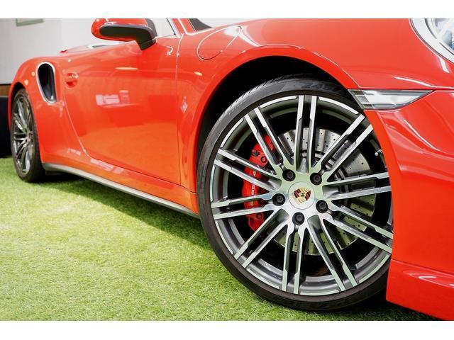 911ターボ カブリオレ 毎年ディーラー整備 ディーラー車(18枚目)