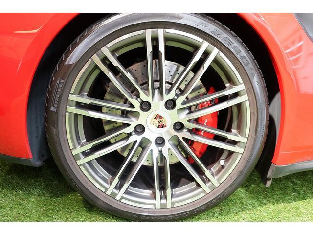 911ターボ カブリオレ 毎年ディーラー整備 ディーラー車(19枚目)