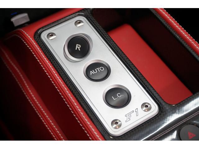 F1 ディーラー点検整備 記録簿付 ナビTVバックカメラ カーボンステアリング カーボンインテリア デイトナシート パワーシート シートヒーター 純正チャレンジタイプ19AW カーボンブレーキ ディーラー車(36枚目)
