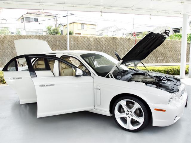 XJ 3.0ラグジュアリーリミテッド X358最終モデル・国内30台限定車・2オーナー・純正20インチ(Takoba)HID・クリアランスソナー・アメリカンカールウッド・ソフトグレインレザー・シートエアコン&ヒーター・16ウェイ電動シート(33枚目)